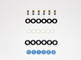 JAGUAR INJECTOR REBUILD KIT SEALS FILTERS PINTLES 3.2 BOSCH 0280150